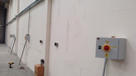 Electrical Install - 3ph Supplies - Paul Dunnings - Installation of 3ph Supplies for Car Ramps